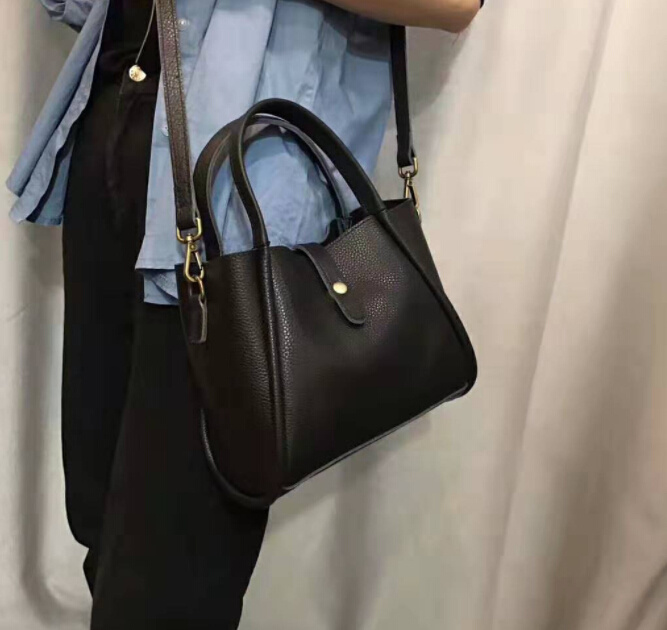 Fashion Leather Ladies Bag Shoulder Handbag Genuine Leather Handbag pictures & photos