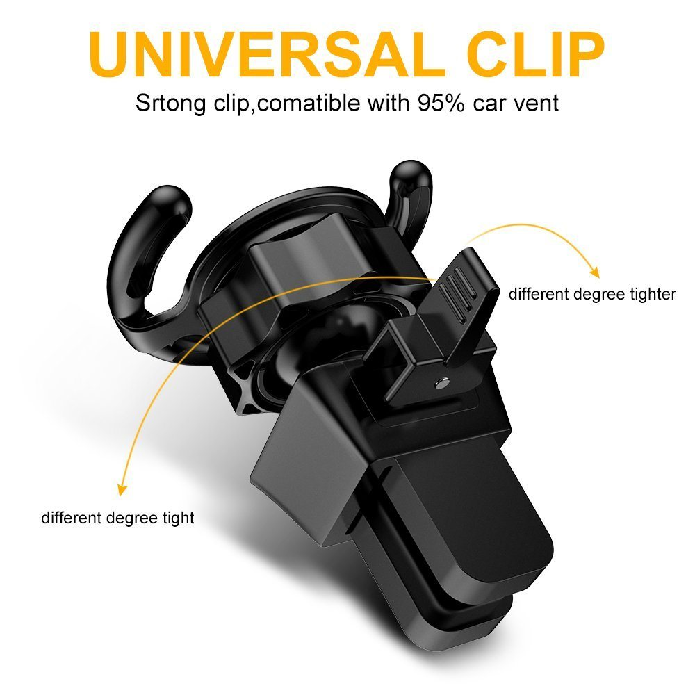 China 360 Degree Rotation Pop Out Stand Air Vent Car Mount Photos Ventilation Holder T360