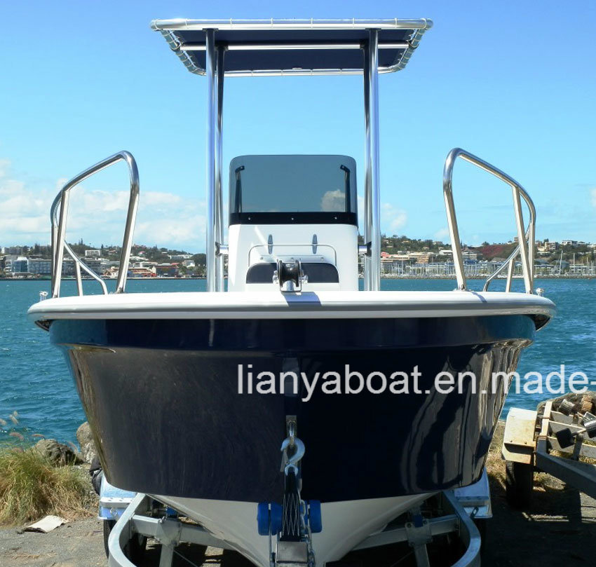 China Liya 19feet Fiberglass Commercial Fishing Boats for