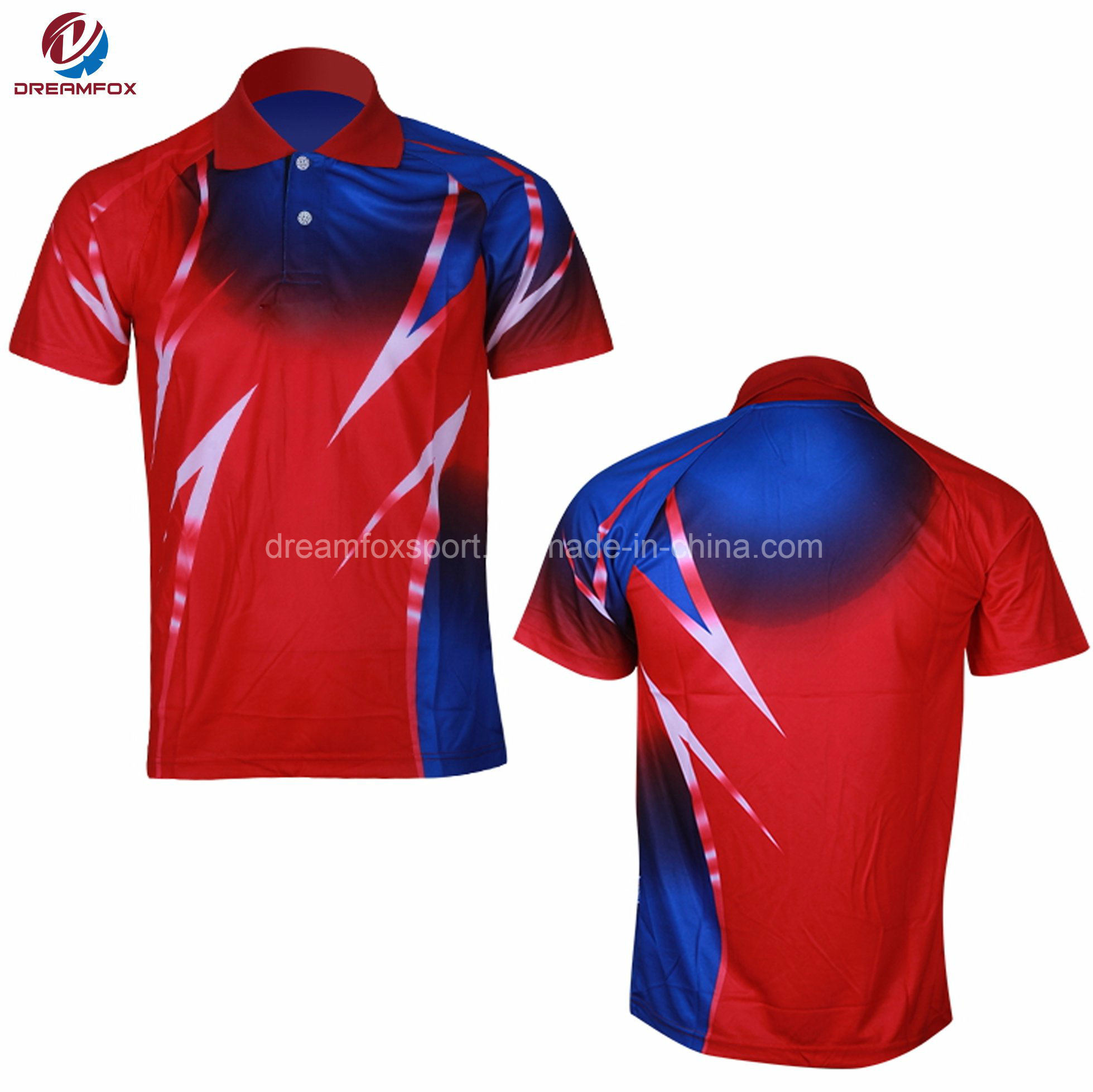 China Customized Sublimated Design Mens Sport Dri Fit Golf Polo