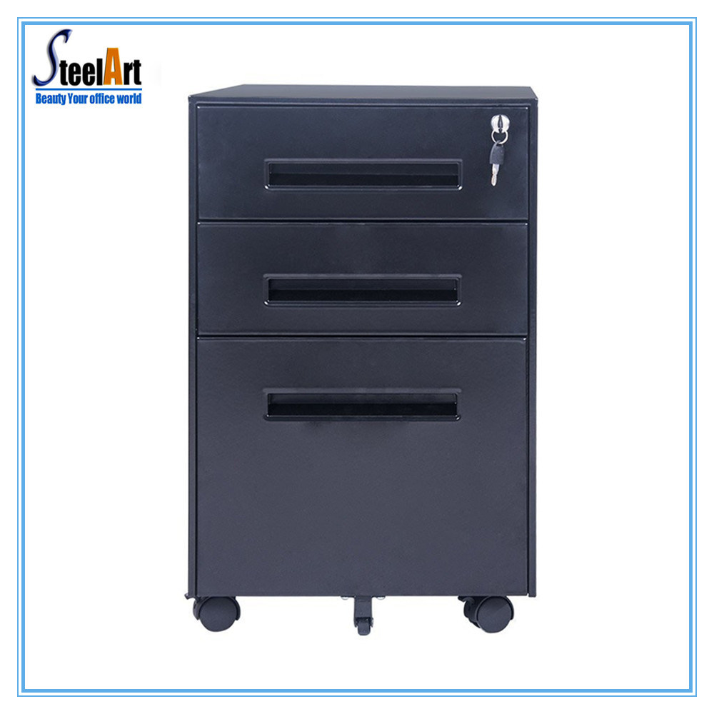 China Under Desk Mobile File Metal Storage Cabinet Filing