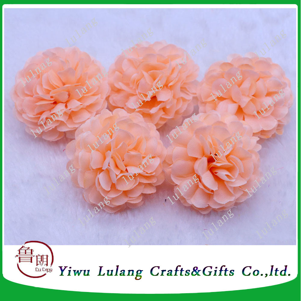China Artificial Daisy Fake Flower Silk Spherical Heads Party
