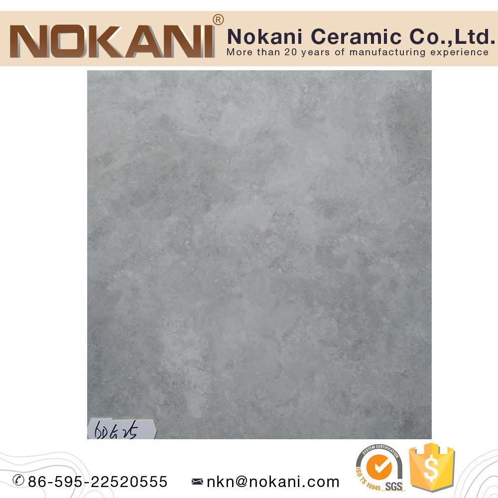 China ceramic tile manufacturer floor tiles wall tiles supplier grey color cement look porcelain floor tile 600x600 dailygadgetfo Images