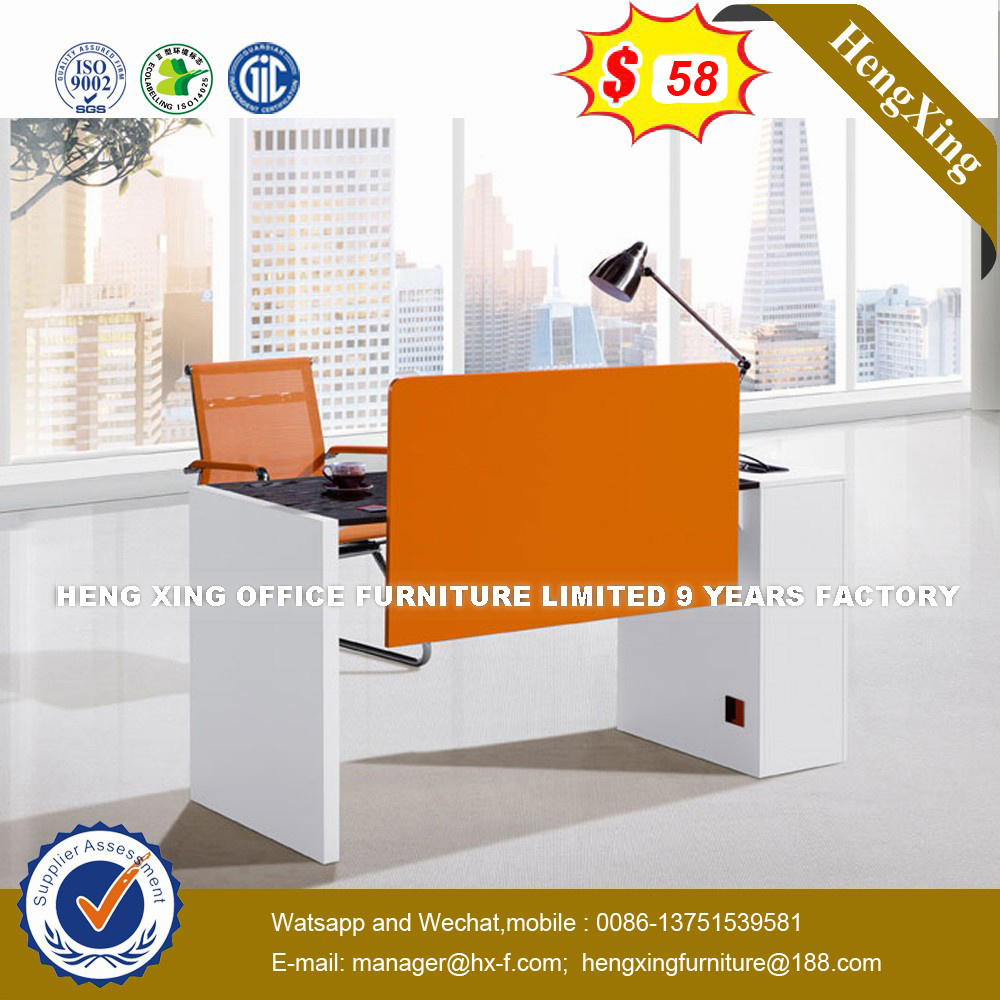 Stock Lots Hutch Cabinets Maple Color Office Staff Computer Desk Hx Un024