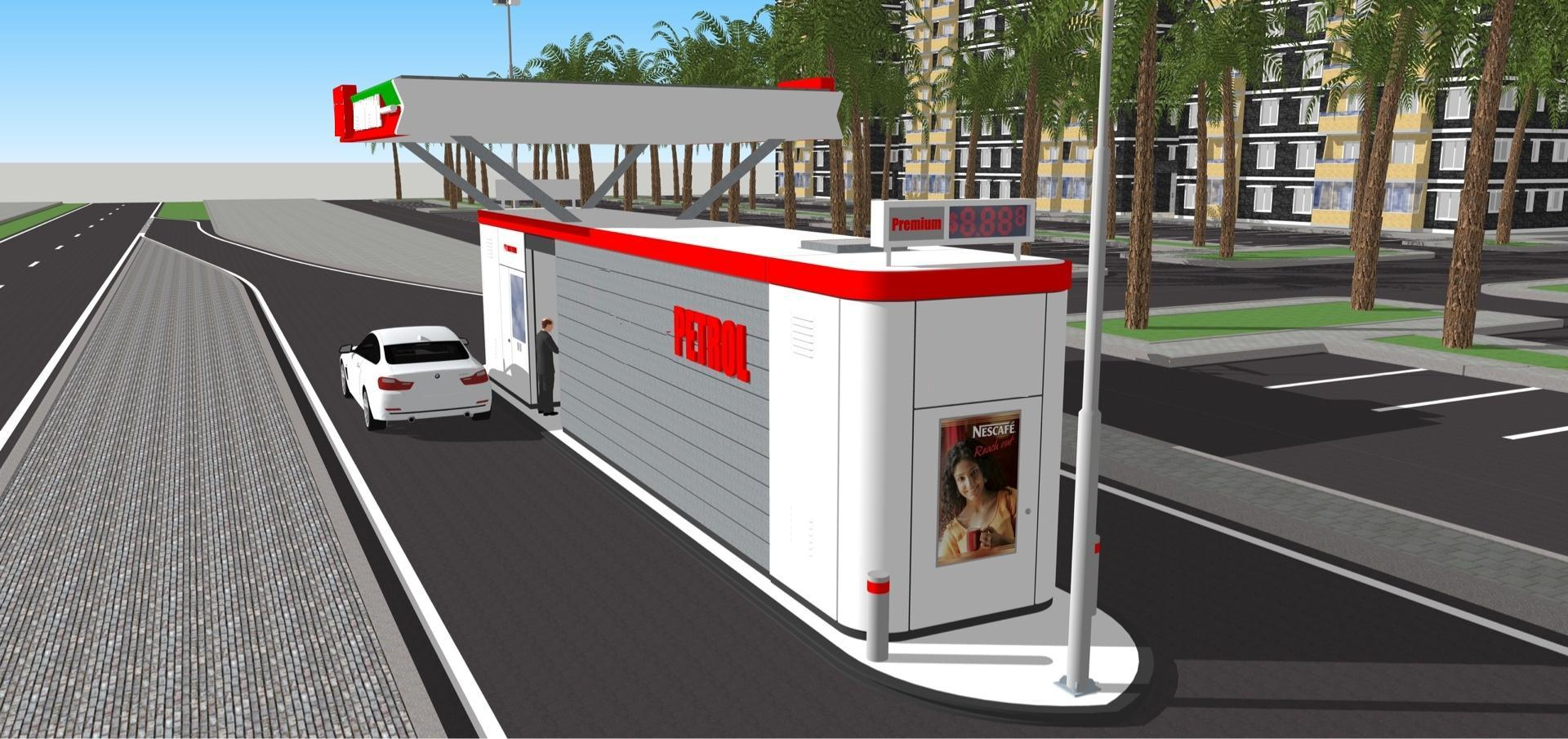 China Portable Gas Station with 30m3 Tank Photos ...