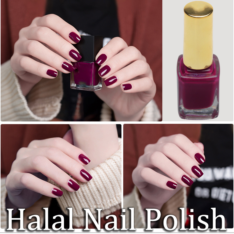 China Hot Selling Private Label Organic Colorful Permeable Nail ...