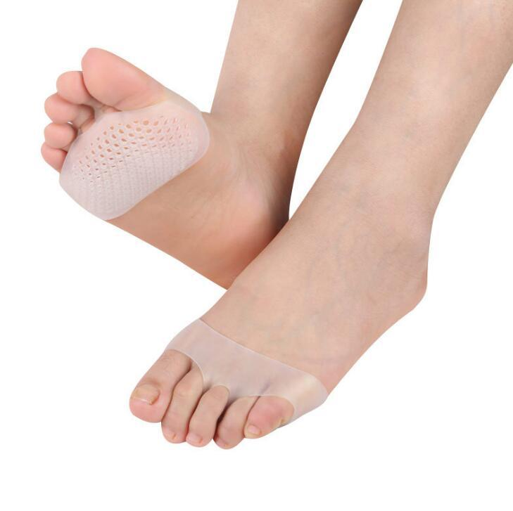 1Pair Soft Silicone Gel Foot Care Pad Metatarsal Foot Shoe Cushions Pain Relief