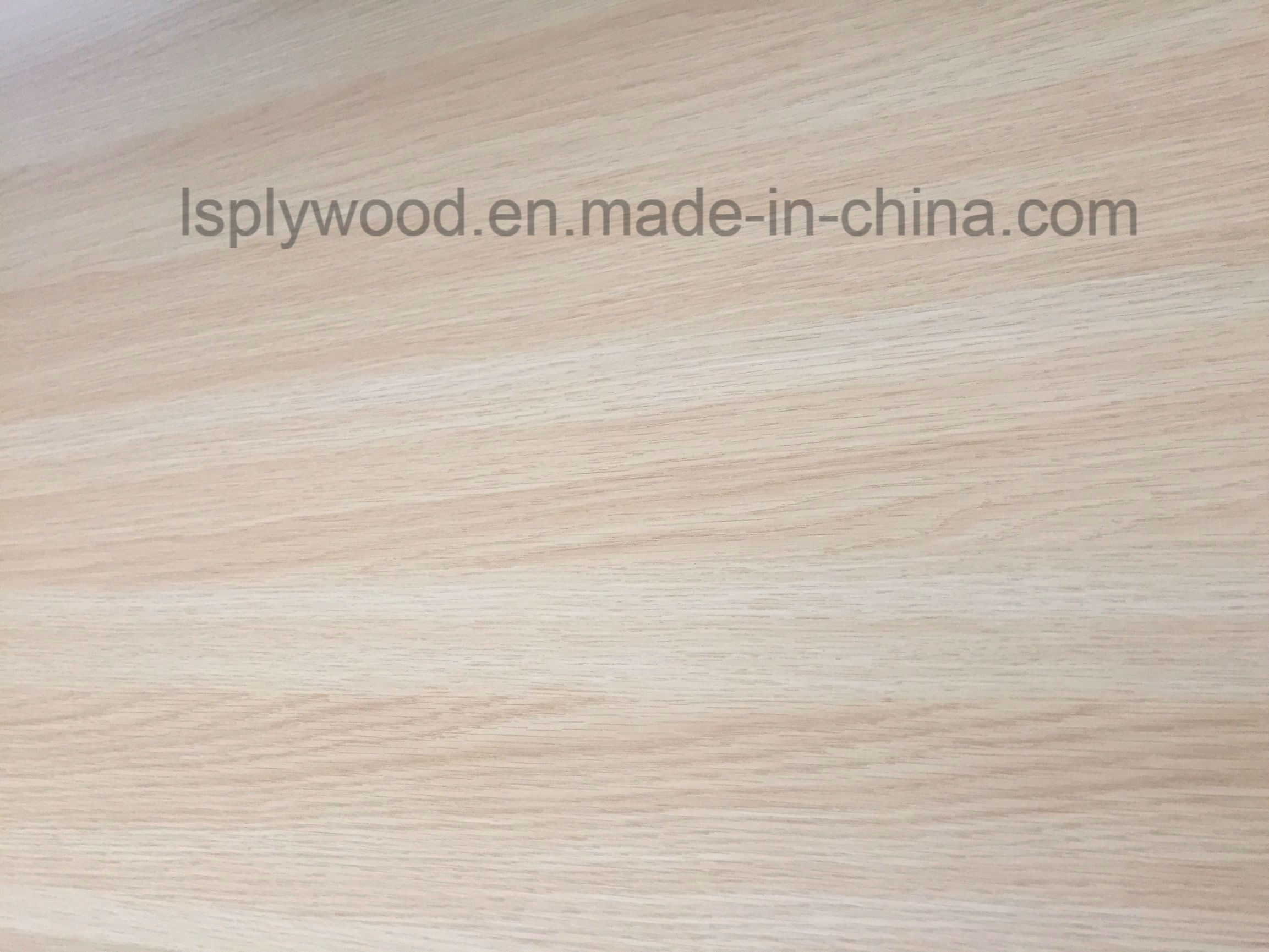 China Sound Reduction Furniture Plywood with Strength and Stiffness
