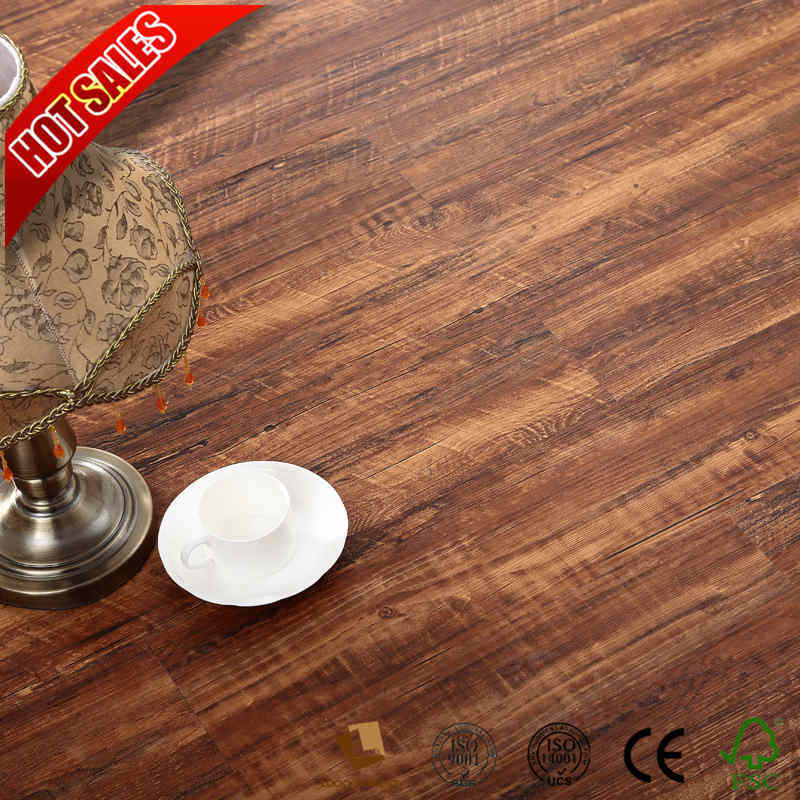 China Style Selections Laminate Flooring V Groove Beveled 12mm 8mm Hardwood Building Material