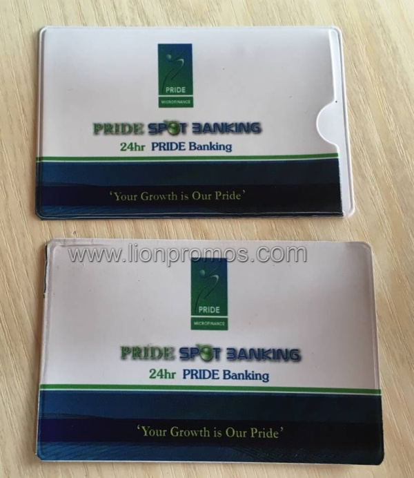 Custom Printing Logo Promotion Events Giveaways PVC Card Bag pictures & photos