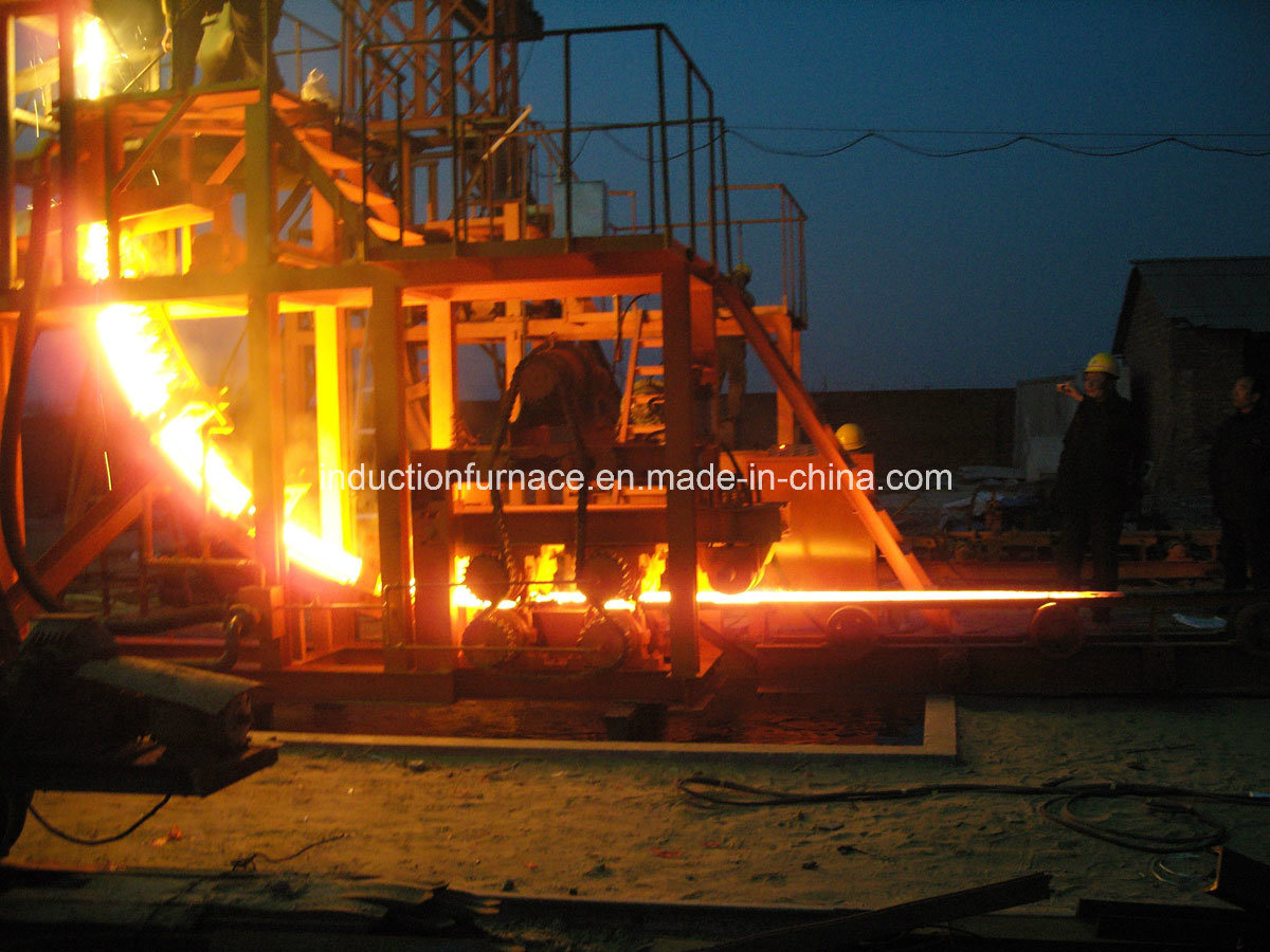 R2.5m Small Continuous Casting Machine CCM for 60mm Steel Billet