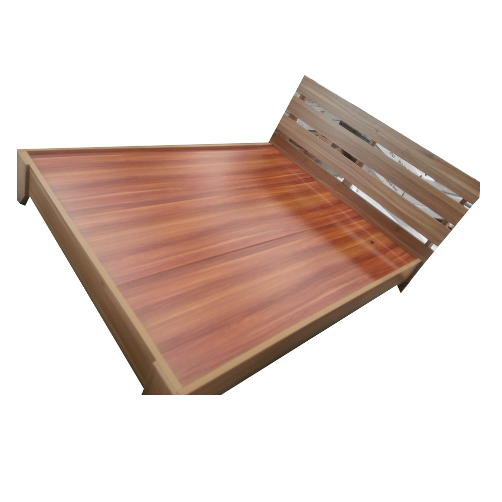 . Hot Item  Modern MDF or Particle Board Simple Design Wooden Bed