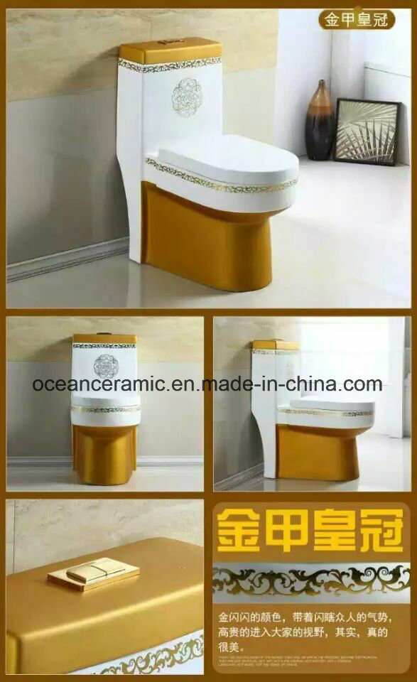 362 Colors Sanitary Ware, One Piece Toilet pictures & photos