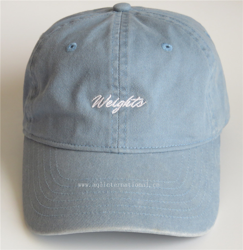 3dd1d4b84 China Hot Selling Distressed Cap Cotton Stone Washed Baseball Cap ...