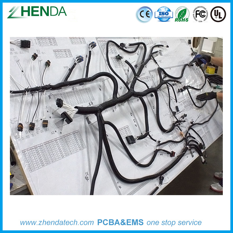 Awe Inspiring China Professional Industrial Control Custom Cable Wire Harness Wiring Digital Resources Almabapapkbiperorg