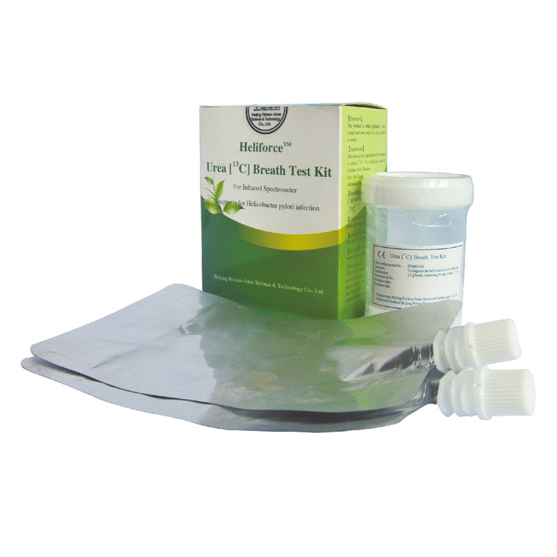 Rapid Test Reagent C13 Urea Breath Test Kit for H. Pylori Diagnosis