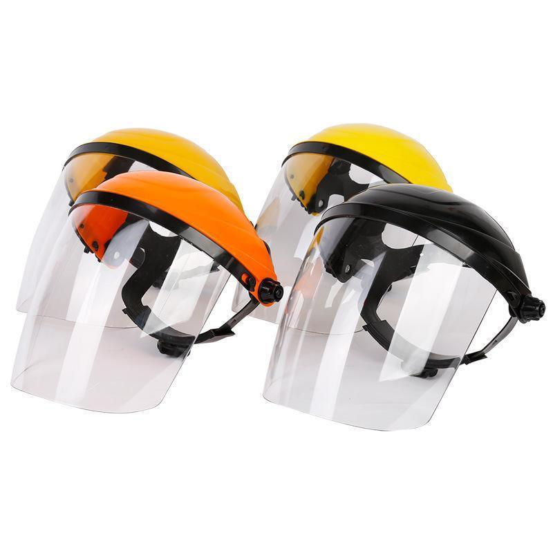 Compective Reusable PC Visor Light Weight Anti-Fog Protective Face Shield safety Helmet