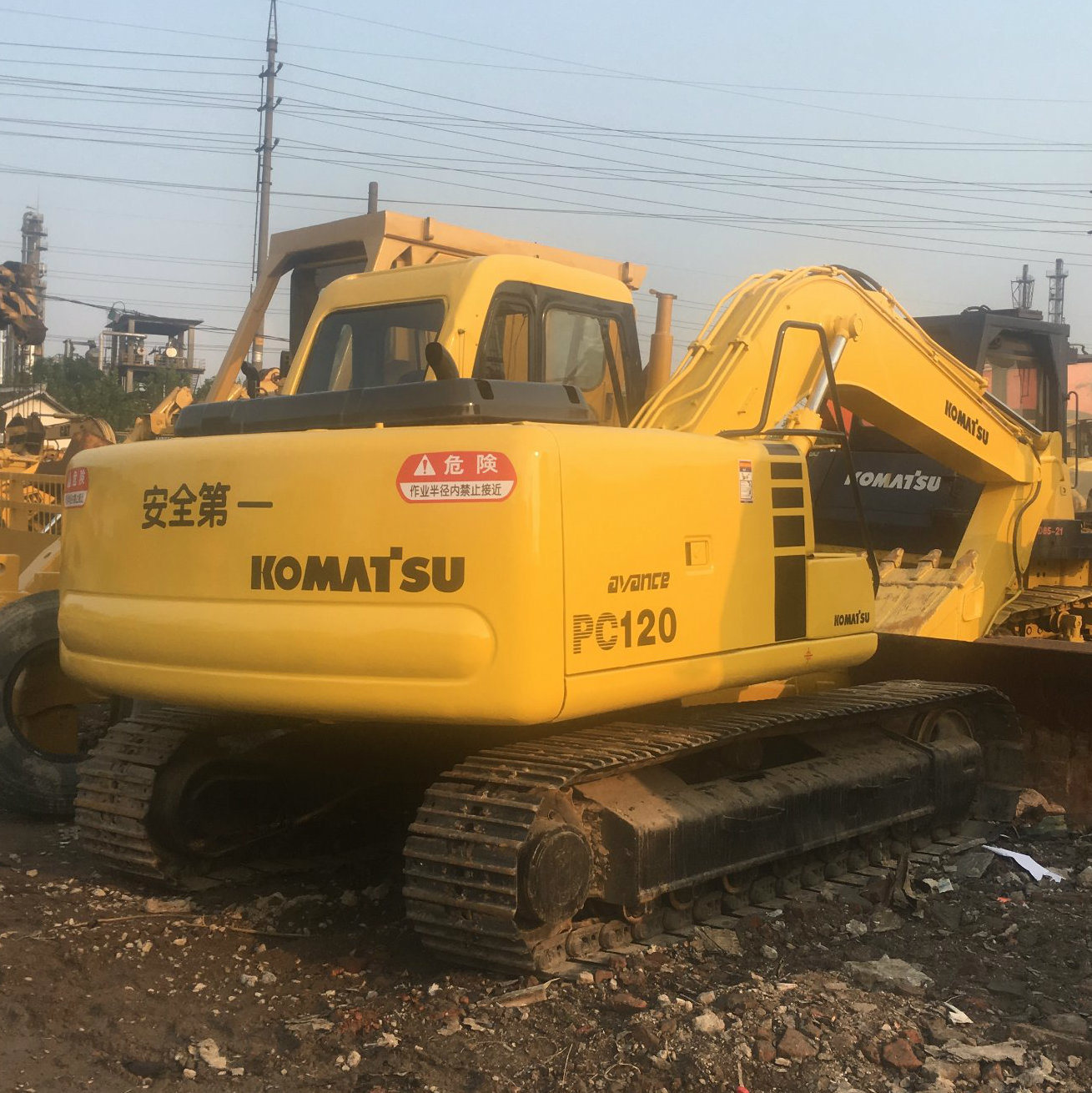 China Used Komatsu 120 Excavator / Small Excavator Komatsu PC120 - China  Excavator, Komatsu 120 Excavator