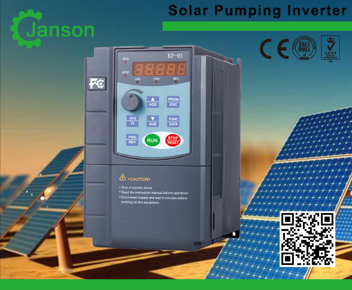 China Waterproof Series Solar Pump Inverter Built in VFD, MPPT ...