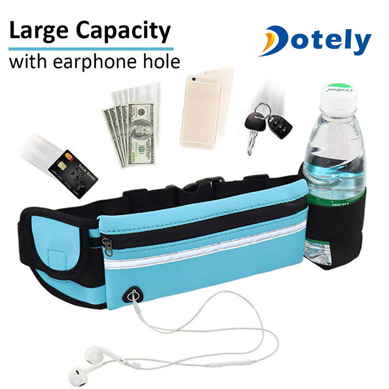 Interesting Water Droplets Sport Waist Packs Fanny Pack Adjustable For Travel