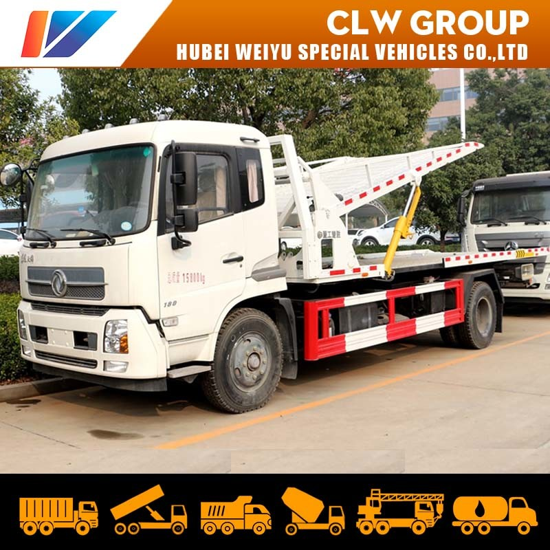 China Dongfeng 170hp Wheel Lift Flat Bed Car Hauler One Towing Three Car Carrier Road Recovery Rollback Tow Truck Flatbed Wrecker China Rollback Tow Truck Wrecker Truck