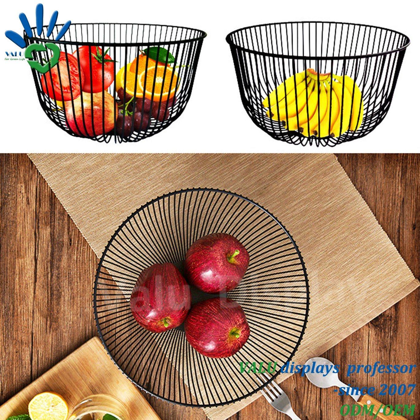 Organizer Metal Countertop Bread Basket