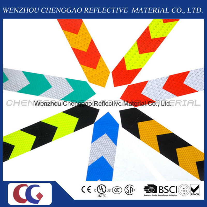 PVC Arrow Truck Reflective Safety Warning Conspicuity Tape (C3500-AW)
