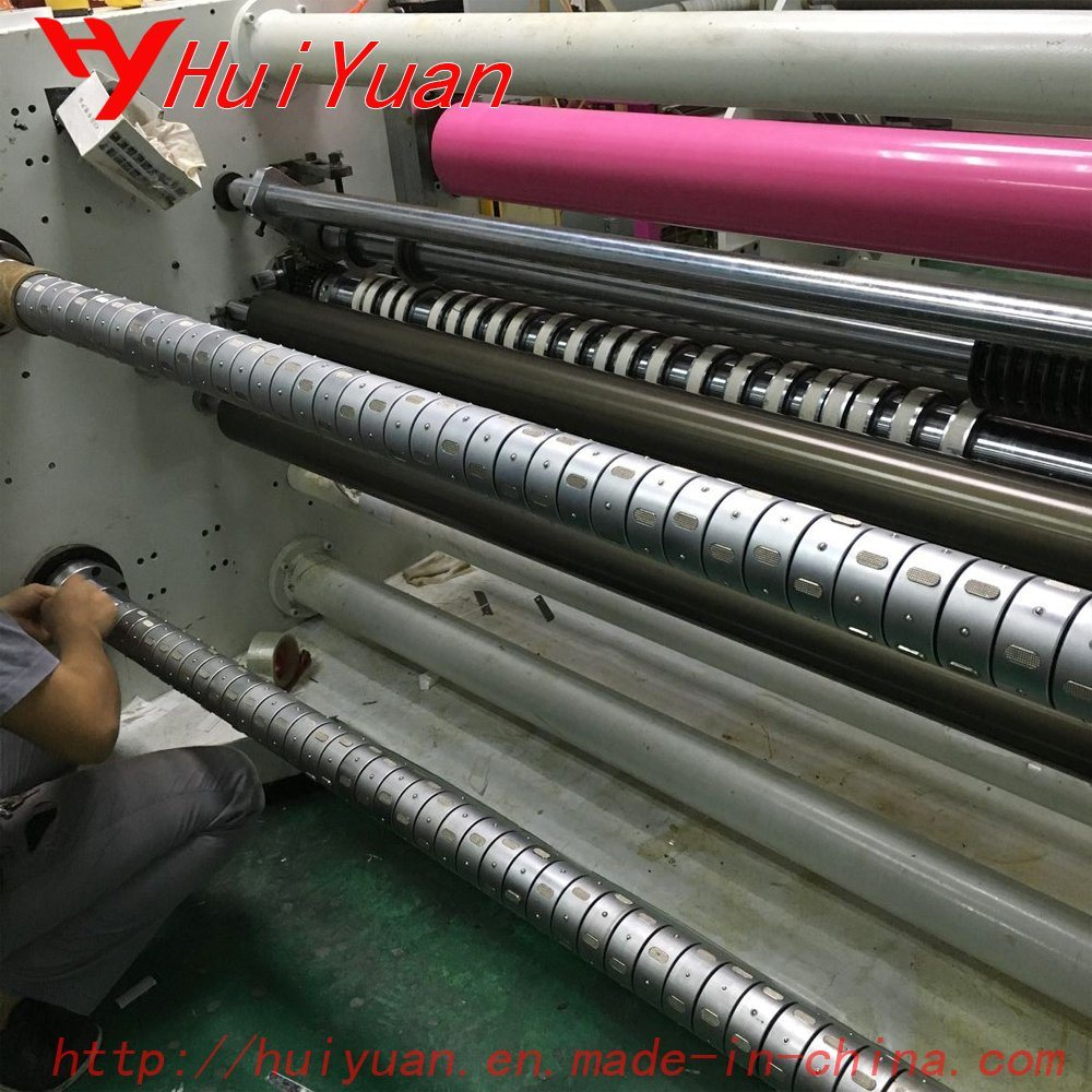 Differential Air Shafts for Rewinding Machines