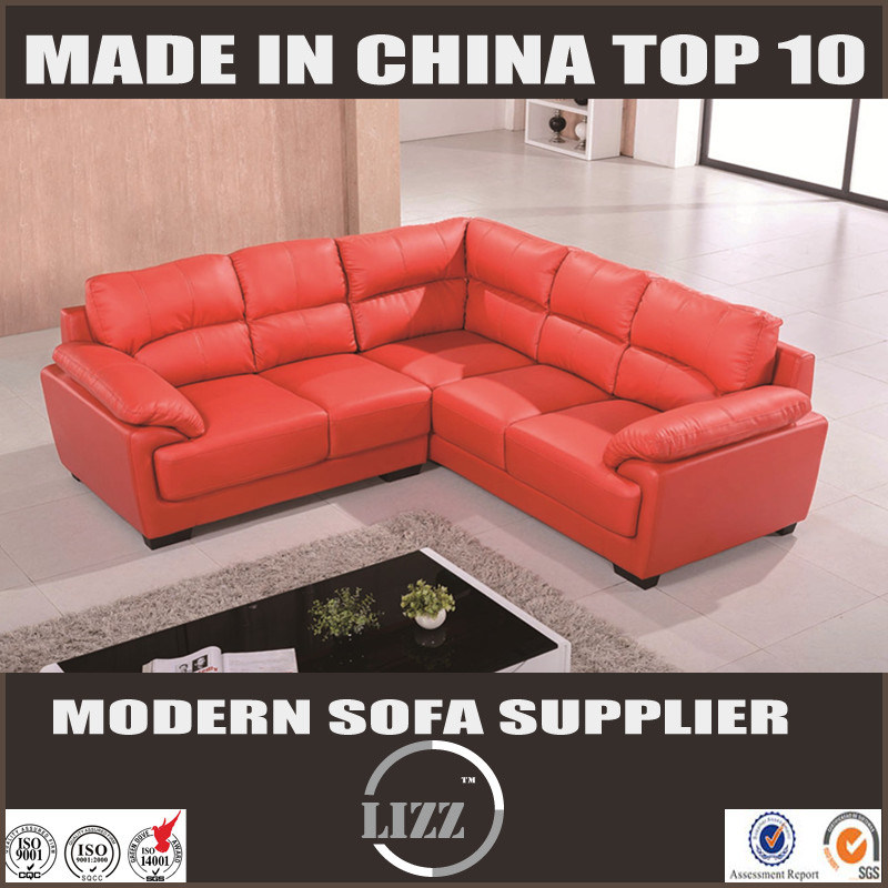 China Fashionable Modern L Shape Leather Sofa Lz371b - China Leather ...