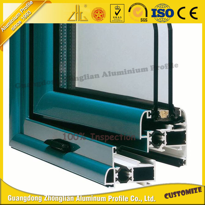 China OEM Aluminum Window and Door Frame with Heat Insulating ...