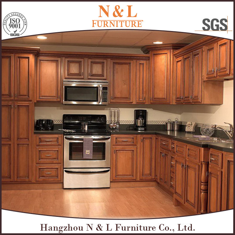 Mdf Wood Kitchen Cabinets: China N&L Modern MDF Home Wood Cabinet Furniture