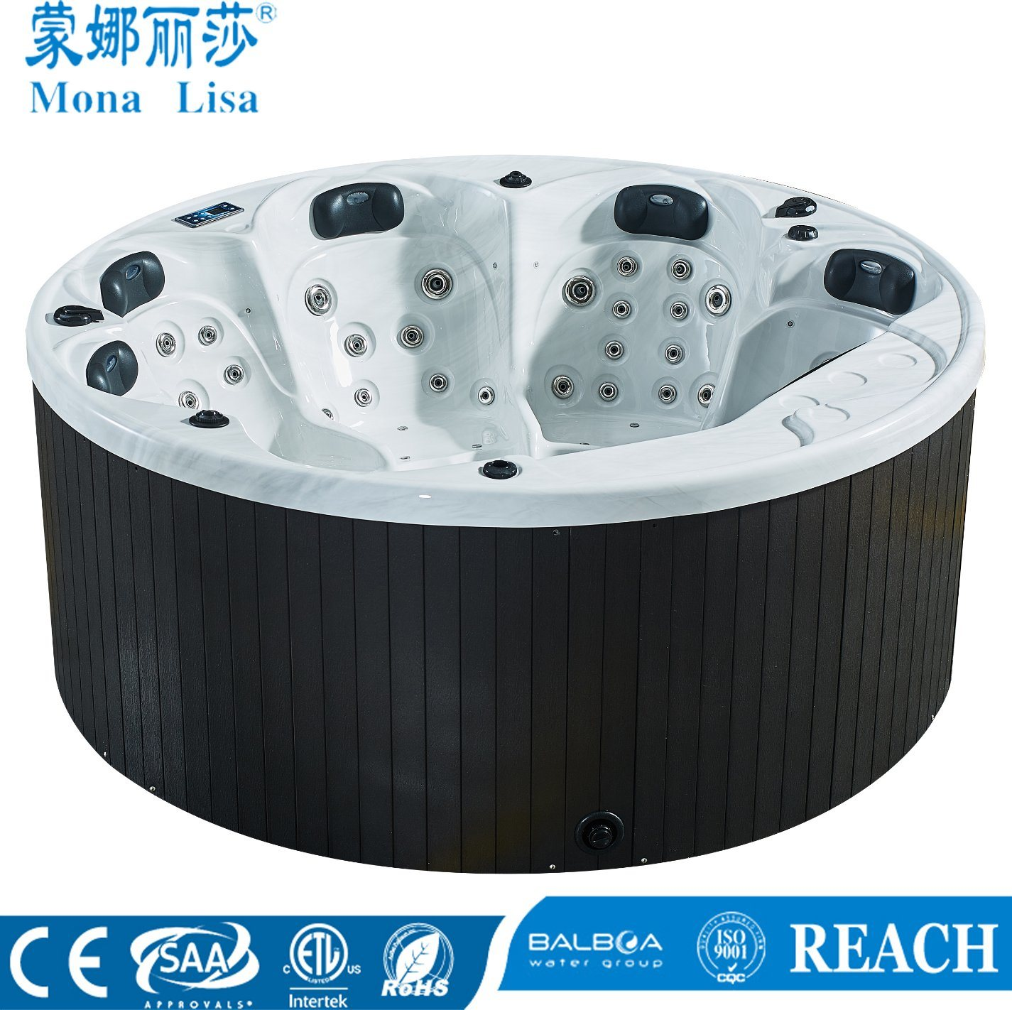 Monalisa Jets Massage Hot Tub SPA for Swimming (M-3356) pictures & photos