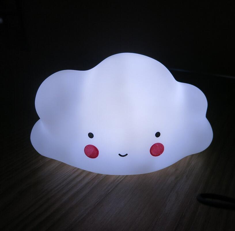 Smile Face Cheeks Cloud Night Lights Lamp Wholesales