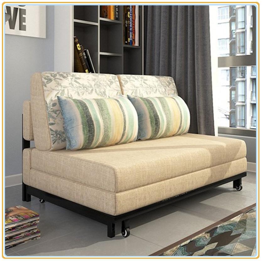 China European Style Modern Fabric Folded Sofa Bed 192 80cm Sleeper Couch Futon