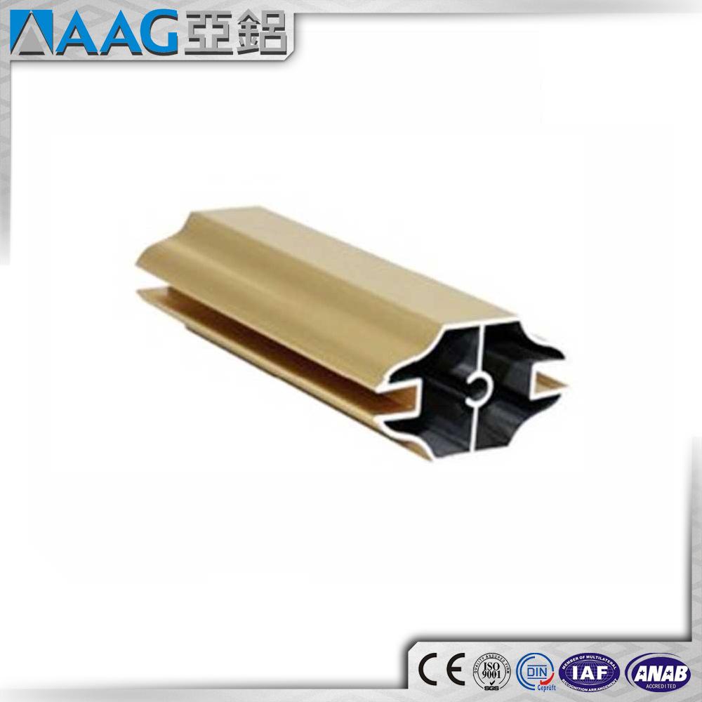 China North American Market Aluminum Extrusion Shower Door Frame