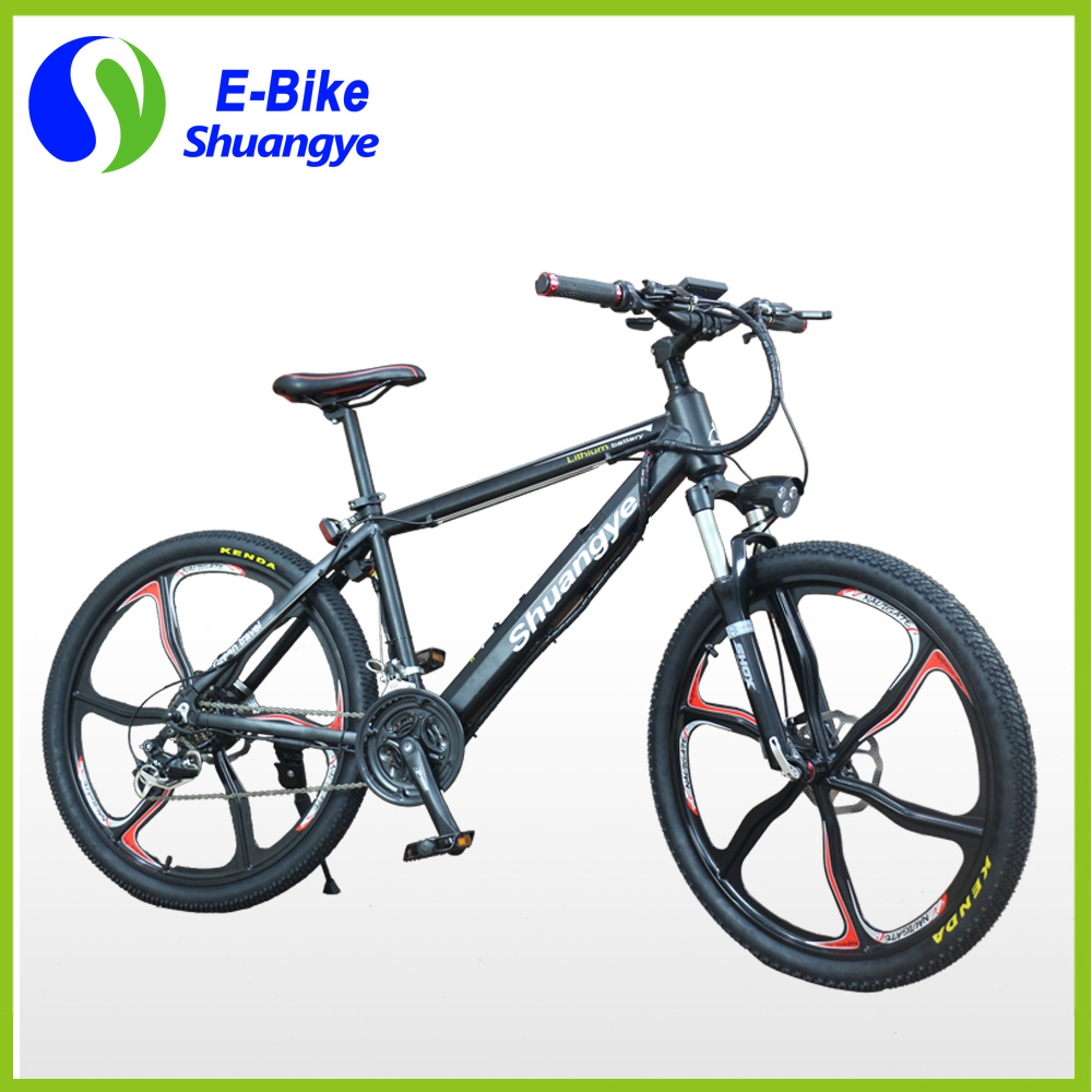 China Magnesium Alloy Wheels Shuangye A6 Electric Mountain Bike ...