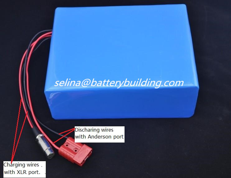 36V 20ah PVC Li-ion Battery 36V Rechargeable Lithium Battery for Skateboard pictures & photos