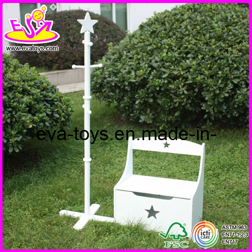 Children Furniture - clothes rack and storage box (W08C011)