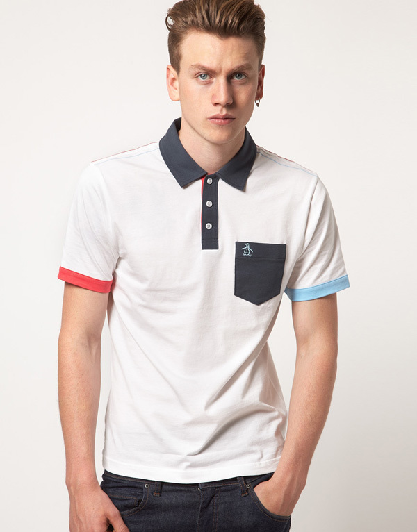 Fashion Nice Cotton/Polyester Golf Polo Shirt (P053)