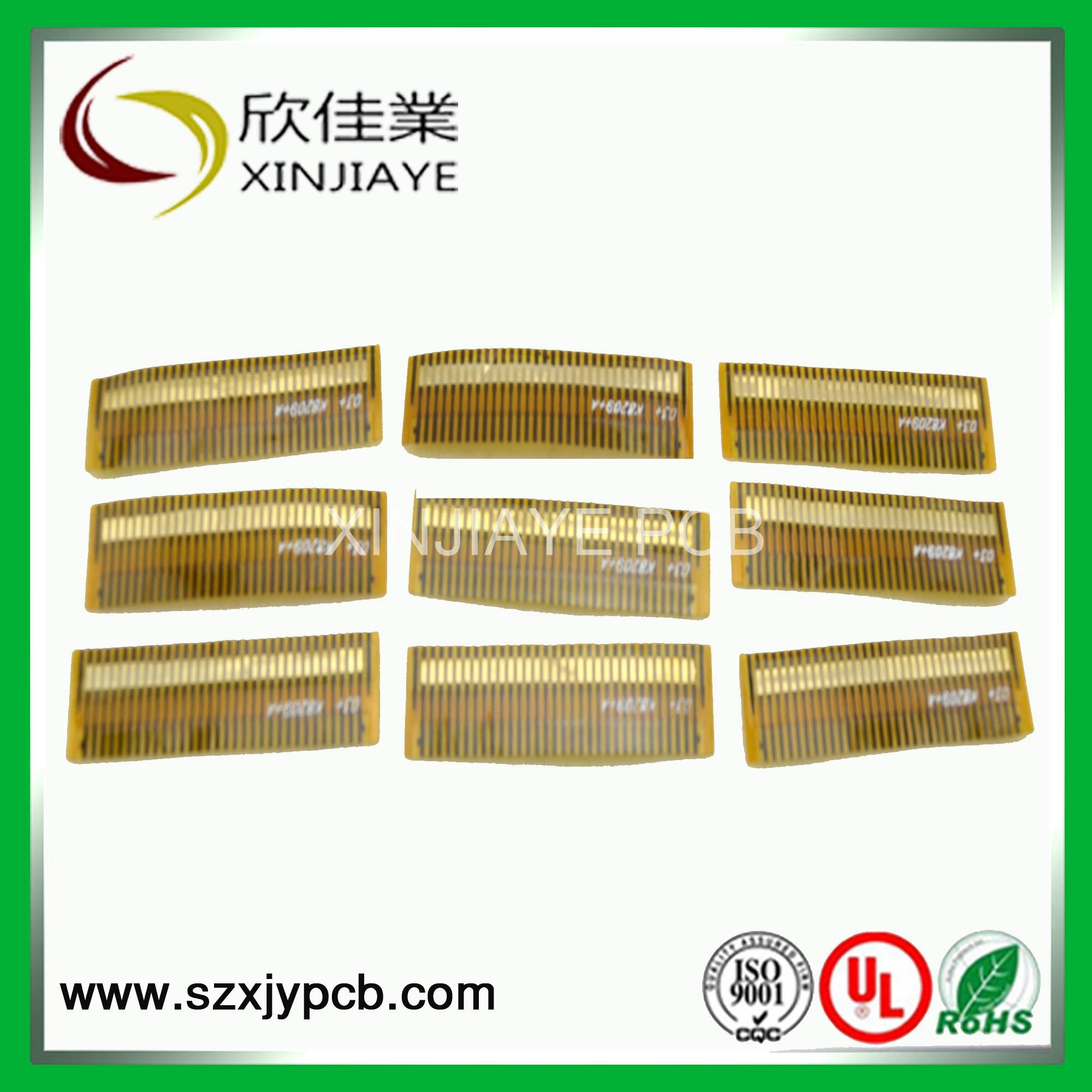 2-Layer Flexible PCB Gold Finger FPC