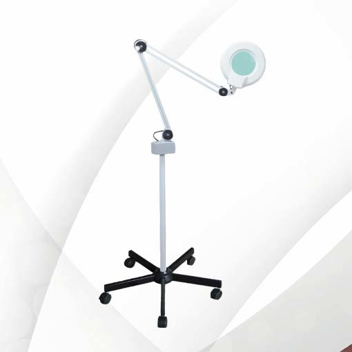 Magnifier Lamp with Floor Stand
