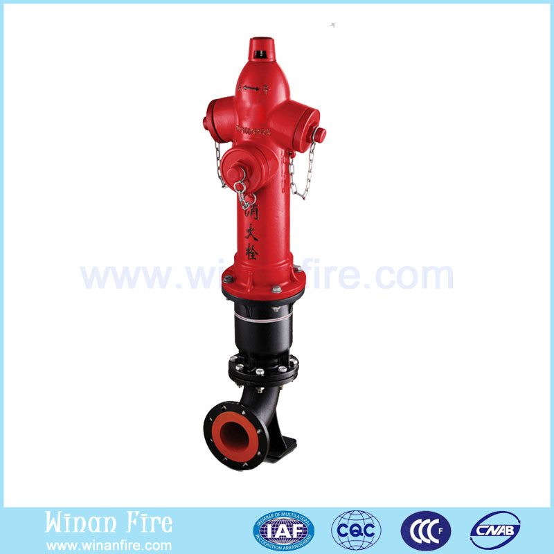 Ductile Cast Iron Anti-Collision Outdoor Aboveground Fire Hydrant