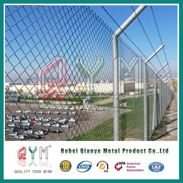 China Wholesale Galvanized / PVC Coated Chain Link Fence Panels ...