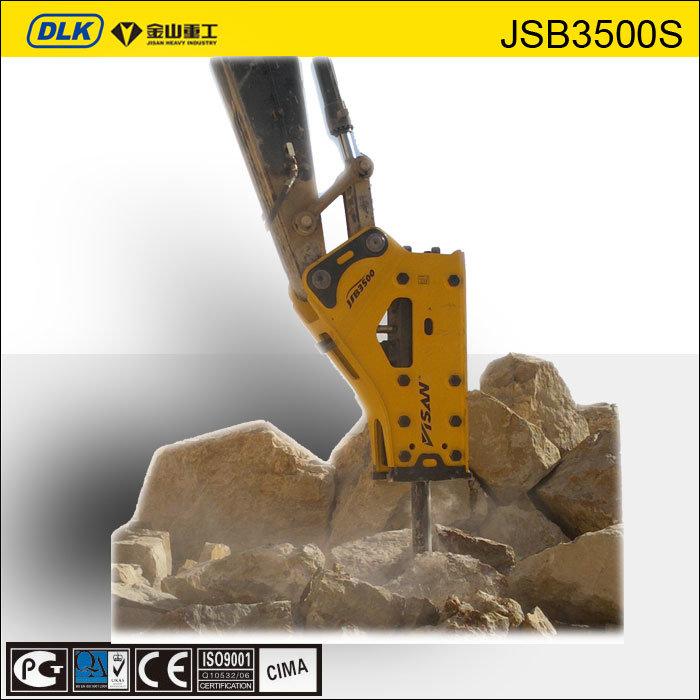 [Hot Item] Jisan Brand Hydraulic Breaker, Hydraulic Breaker Chisel,  Hydraulic Rock Breaker