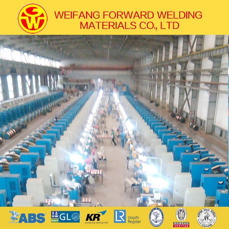 China CO2 Welding Wire (ER70S-6 Hyundai Welding Wire) From Solid ...