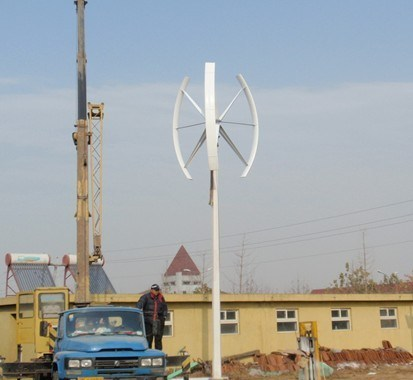 High Efficiency Maglev Vertical Wind Turbine Wind Generator Wind Power Generator Windmill pictures & photos