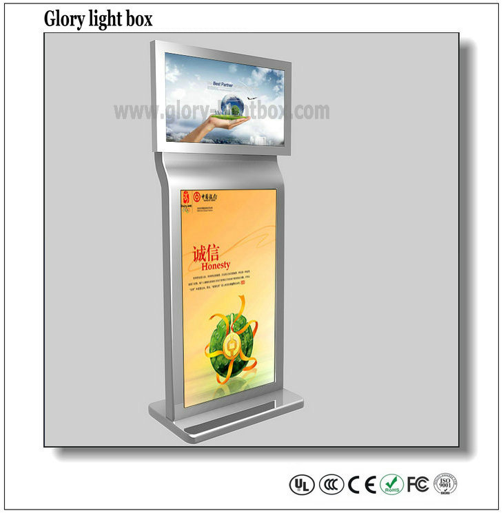 Double Side Video Screen and Advertising Display Digital Signage
