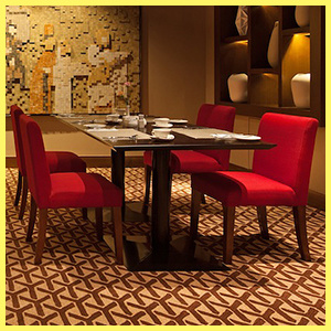 Excellent China Red Fabric Chair And Table Banquette Seating Dailytribune Chair Design For Home Dailytribuneorg
