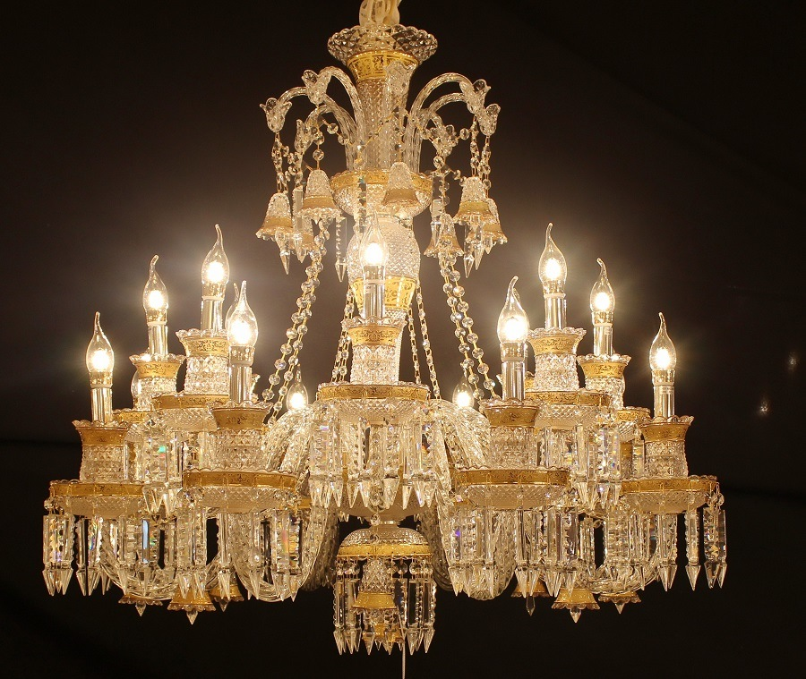 China 8 light baccarat crystal chandelier for homehotelhall photos 8 light baccarat crystal chandelier for homehotelhall aloadofball Images