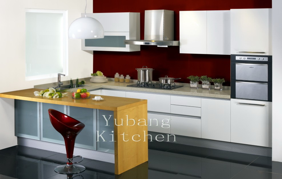 Baked Paint Kitchen Cabinet (M-L70)